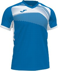 Футболка JOMA CAMISETA SUPERNOVA II ROYAL-BLANCO M/C