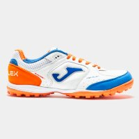 Шиповки JOMA TOP FLEX 942 BLANCO-NARANJA TURF
